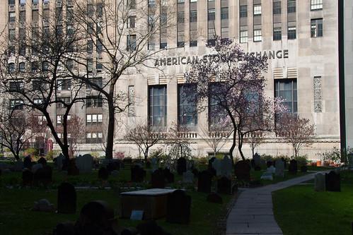 Cemetery & The Stock Exchange
