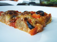 homemade sausage and cheese pizza - 23