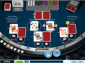 21 Duel Blackjack 3 Hand Rules