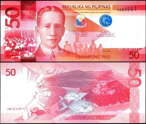 50 Piso Filipíny 2010