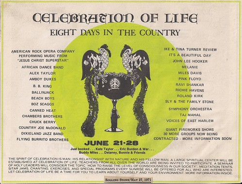06/21 - 28/71 Celebration Of Life Festival @ Cypress Pointe Plantation, McCrea, LA