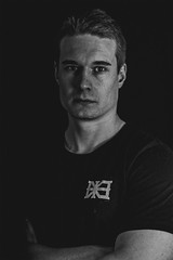 Portrait (Samirgh) Tags: portrait finnish studio black white 2017