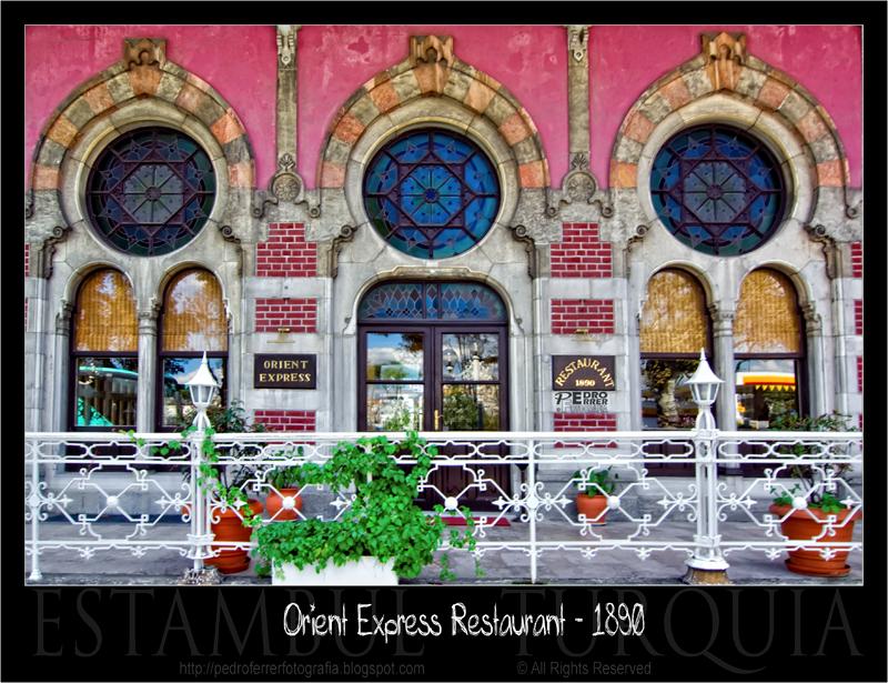 Orient Express Restaurant - 1890 - Sirkeci Railwaystation