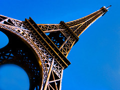 Eiffel Tower (fstop186) Tags: abstract paris macro building closeup architecture landscape cityscape graphic eiffeltower landmark icon grdigital ricoh grd ricohgrd