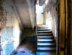 Up the stairs (MastaBaba) Tags: urban up stairs ruins walk ruin nuclear ukraine chernobyl crabwalk pripyat chornobyl prypiat 20091019 chernobol