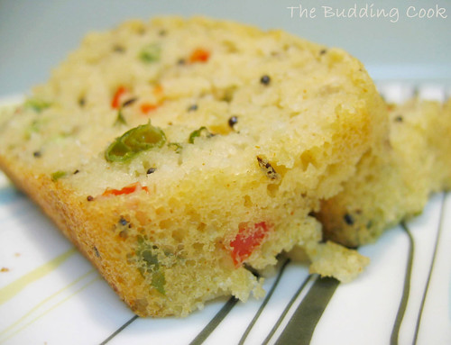 Rava Cake Recipe In Marathi Oven: The Budding Cook: Savory Semolina Cake