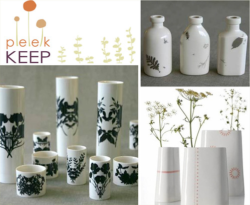 Vases from Peek Keep