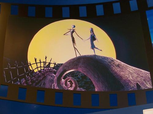 Nightmare Before Christmas film strip scene in Disney's Soda ...