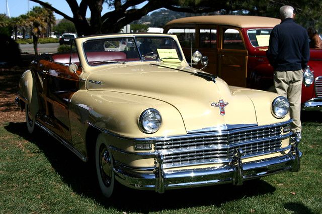 show california usa classic car townandcountry 1940s chrysler sausalito 2009 canonef24105mmf4lisusm