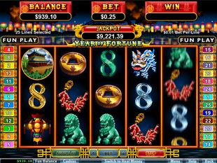 Year of Fortune slot game online review