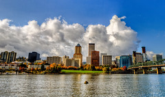fall clouds (Squid Vicious) Tags: panorama oregon canon portland 7d hdr photomatix