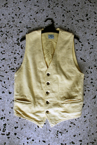 light yellow waistcoat