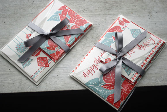 Smock Letterpress Holiday Cards + Gift Tags