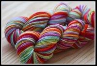 'McKenzie's Rainbow' on Special purchase ultra merino