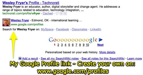 Create a Google Profile