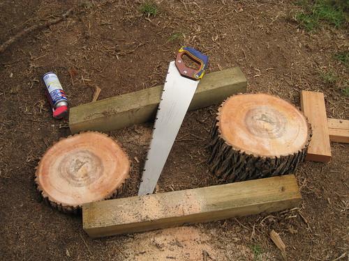 Modesto ash log round