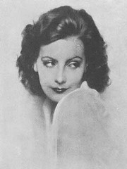 An early portrait of Greta Garbo