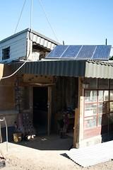 Les panneaux solaire de la maison