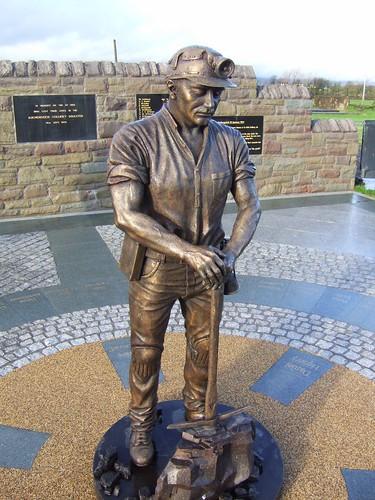 Auchengeigh miner's memorial 8