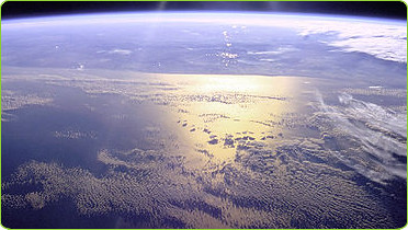 The Pacific Ocean Viewed From Outer Space