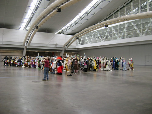 640 fursuiters in Hall C