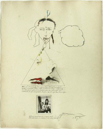 Self Portrait Patti Smith (American, born 1946). MOMA, NYC by renzodionigi