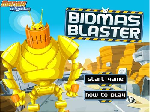 Bidmas Blaster