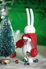 Deck the Halls.... (The Dolly Mama) Tags: christmas bunny festive toys japanese lapin petitlapin exploredec2009