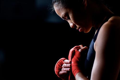 フリー画像| 人物写真| 女性ポートレイト| アジア女性| 格闘家|       フリー素材|