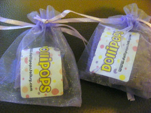 Dollipops gifts for goodie bag