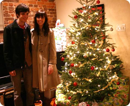"The dreaded ""couples"" tree photo."