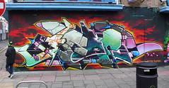 AROE MSK - WE HAVE RISEN... (Heavy Artillery) Tags: uk graffiti montana brighton crew letter artillery msk seventh heavy 7th aroe