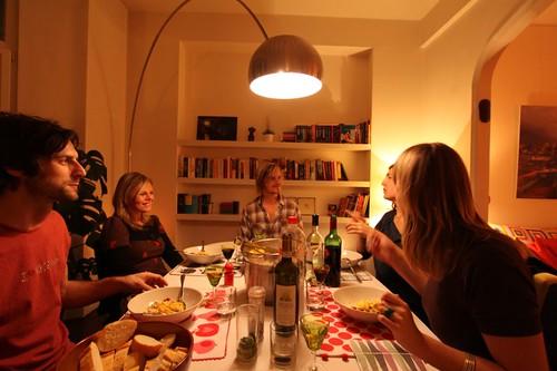 Dinner in Brussels...