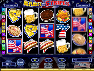 Bars and Stripes slot game online review