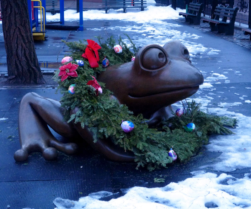 Froggy Christmas