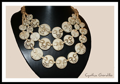(Cynthia Gordillo) Tags: color j design necklace arte handmade ooak wear jewellery fimo clay mano push caras mold collar diseo unica kato artesania cernit hecho pieza joya bisuteria polymer unico moldes artesano premo exclusivo hechoamano arcilla artesana betun polimerica