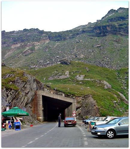 Transfagarasan tunnel