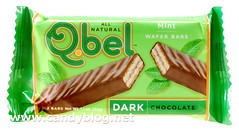 Q.Bel Dark Chocolate Mint Wafer Bars