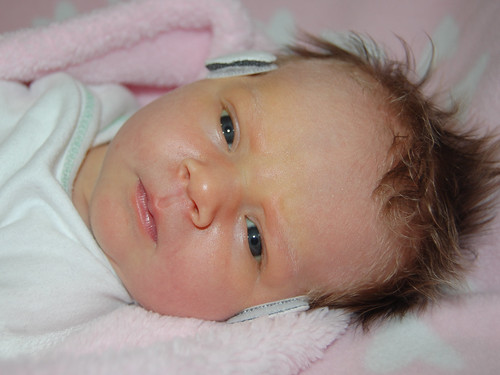 Baby Harlow Jade 5 days old today. by you.