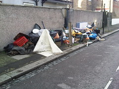 Fly-tipping Montague Road N15