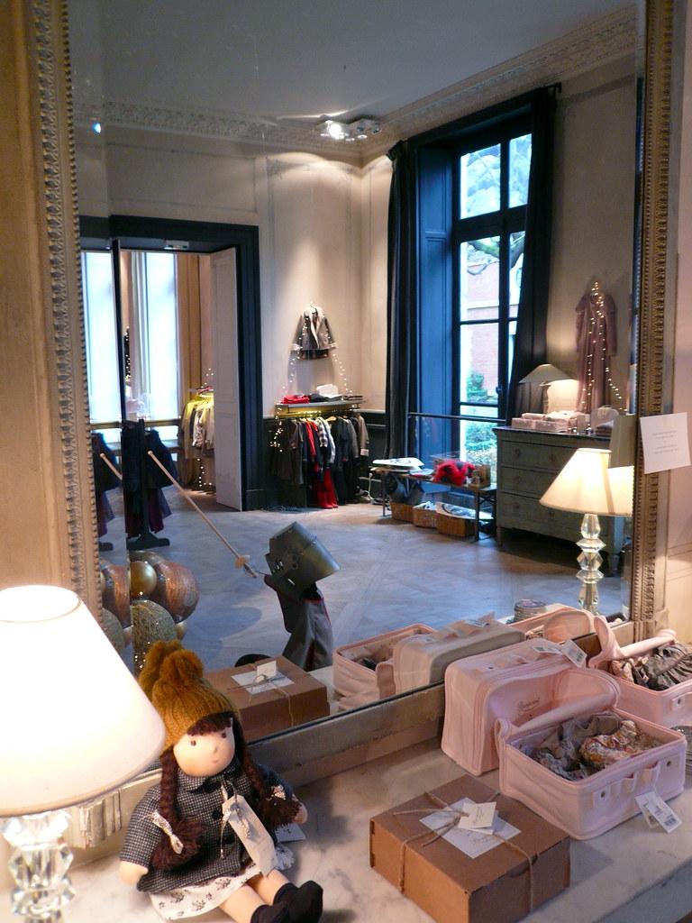 Le concept store bonpoint rue de tournon paris du grand luxe dans un lieu - Showroom point p paris ...