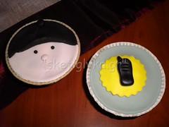 Police cupcakes (Niki SG) Tags: art cakes cookies cupcakes sugar baptism sugarpaste γλυκα βαφτιση χειροποιητα κεκακια sketiglyka κερασματα
