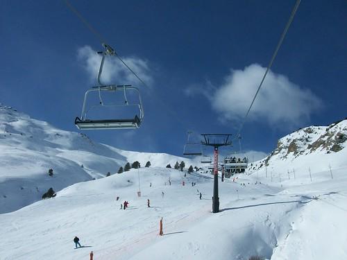 Estación de esquí en Aragón
