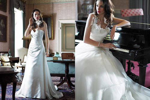 Bridal Gown trend of 2010 by Alan Hannah
