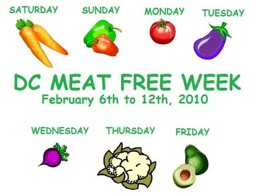 Meat Free Week in DC