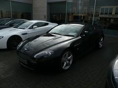 Aston Martin N400 (Adam Melville) Tags: white black martin coupe v8 aston vantage n400
