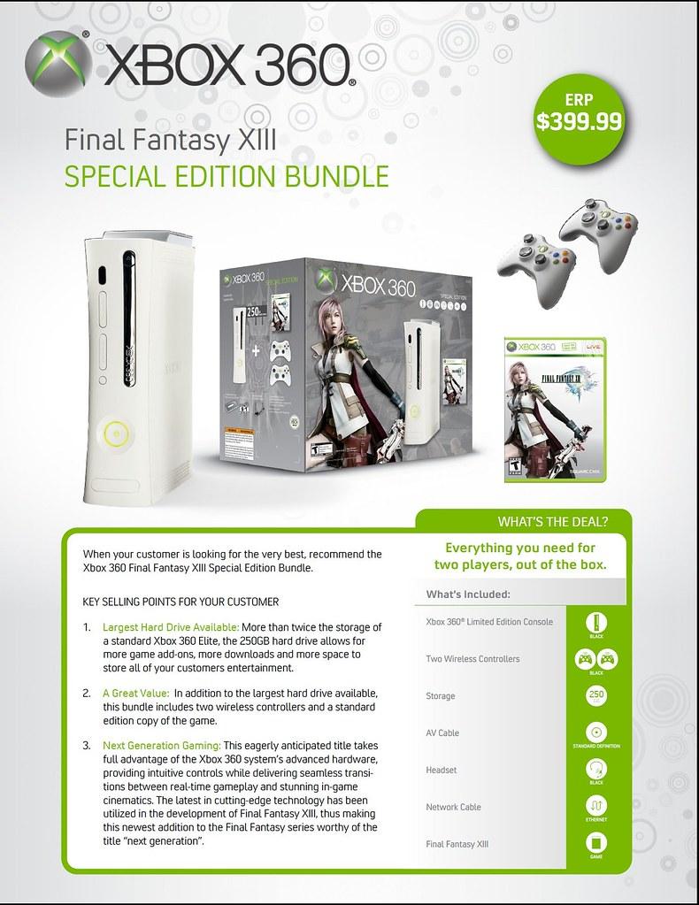 Xbox 360 - FF XIII Bundle 4344497315_4075d56049_b