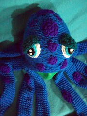 101_1055 (CrazyHatSociety) Tags: winter scarf shopping knitting crochet caps hats octopus etsy fiberart custom beanies earflaps loomknitting crazyhatsociety