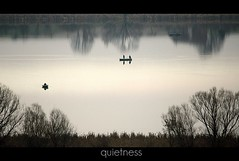 quietness [explore] (Frank Wuestefeld) Tags: trees naturaleza lake nature water canon reflections landscape boot eos rebel cycling see boat wasser hiking natur paisaje explore lena silence creativecommons cinematic landschaft wandern harz calmness quietness m7 stille radfahren eichsfeld duderstadt seeburgersee 400d 55250is blackwhiteseries justnatureseries frankwuestefeld germanyseries