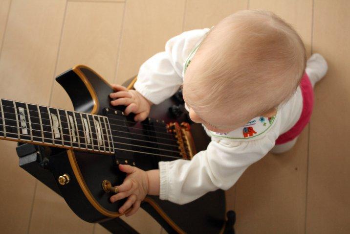 Pieni kitaraoppilas 1